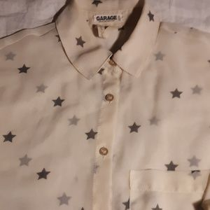 ⭐ADORABLE GARAGE STAR TOP⭐